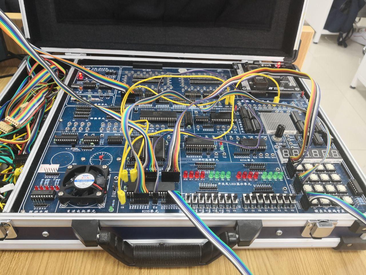 [微机实验/TD-PITE] 数码管显示实验